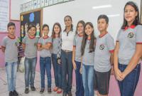 Alunos da escola Balena são premiados em concurso